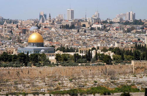 Jerusalem Is NOT 'disputed' Territory