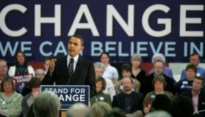 Barack Obama Change We Can Believe in Campaign