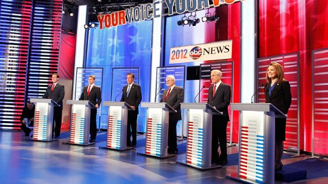 ABC News Republican Presidential Debate Iowa, December 10, 2011