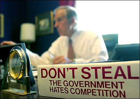 Ron Paul Don't Steal