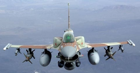An Israeli F-16 (Photo: F-16.net)