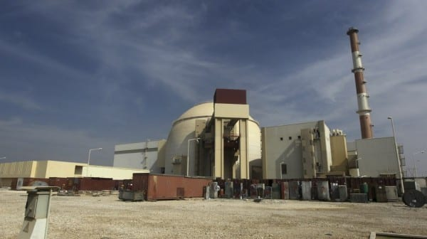 The Bushehr nuclear facility in Iran (Majid Asgaripour/AP/Mehr News Agency)