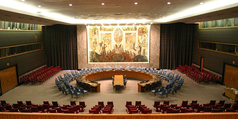 The UN Security Council Chamber (Patrick Gruban/Flickr)