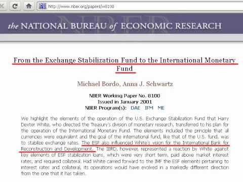The Exchange Stabilization Fund and Its History