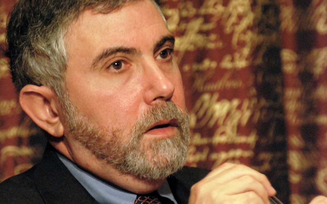 Paul Krugman's Laughable Argument that Wages Aren't Determined by the Law of Supply and Demand