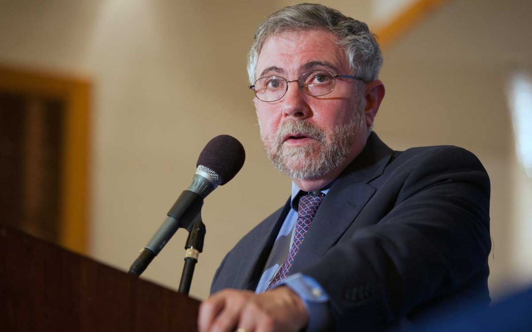 Paul Krugman Is Crazy About Money Printing
