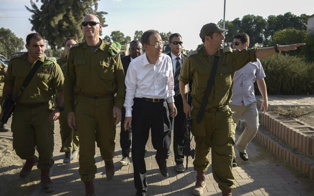 Ban Ki-moon's Complicity in Israel's Occupation and War Crimes