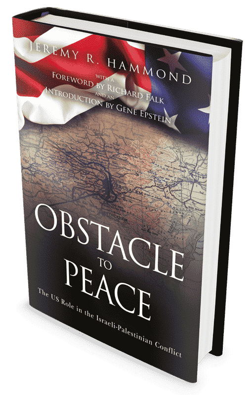 Obstacle to Peace: The US Role in the Israeli-Palestinian Conflict