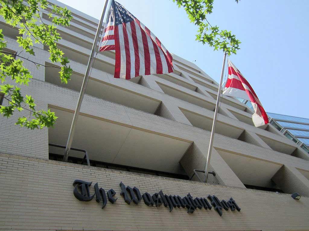 The Washington Post building in Washington, DC (Daniel X. O'Neil/CC BY 2.0)