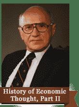 history economic thought ii