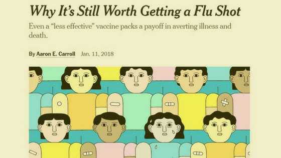 Infographic: How the New York Times Deceives You about Flu Shot Safety