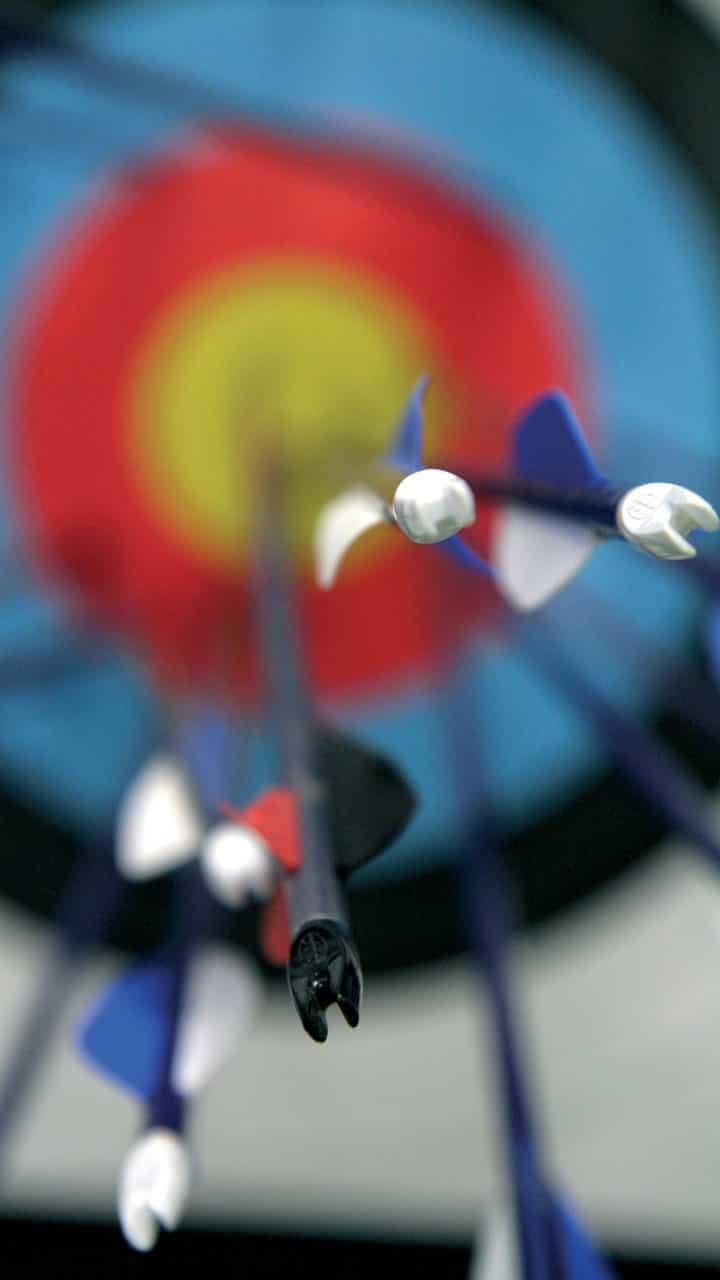 target arrows
