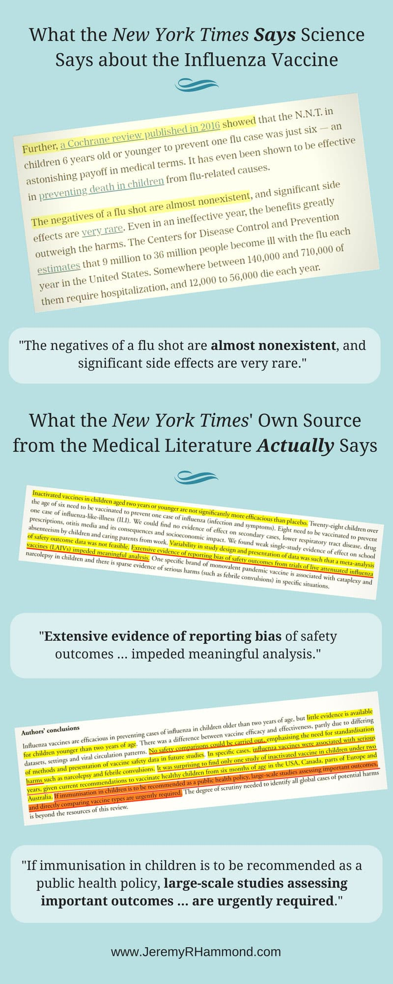 nyt vs science flu shot infographic 2