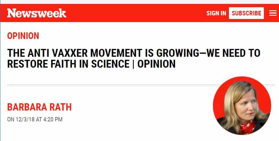Newsweek vaccine propaganda
