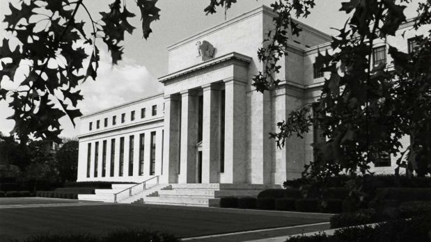 The Marriner S. Eccles Federal Reserve Board Building in Washington, D.C., 1937 (Board of Governors of the Federal Reserve System/Public Domain)