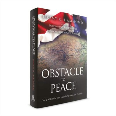 obstacle to peace hardcover