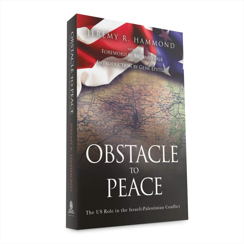 obstacle to peace paperback