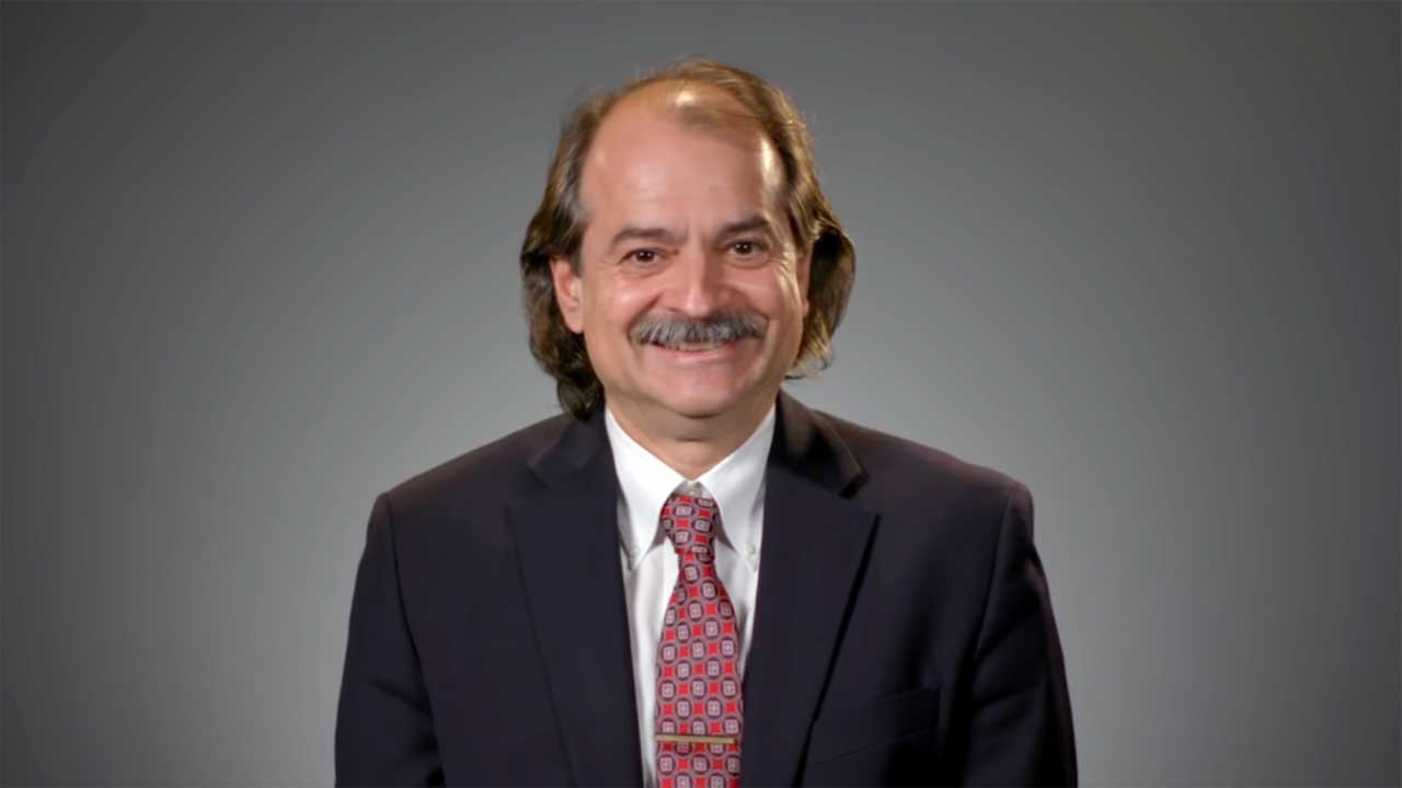 Dr. John Ioannidis in an interview with Journeyman Pictures (Screenshot from YouTube)